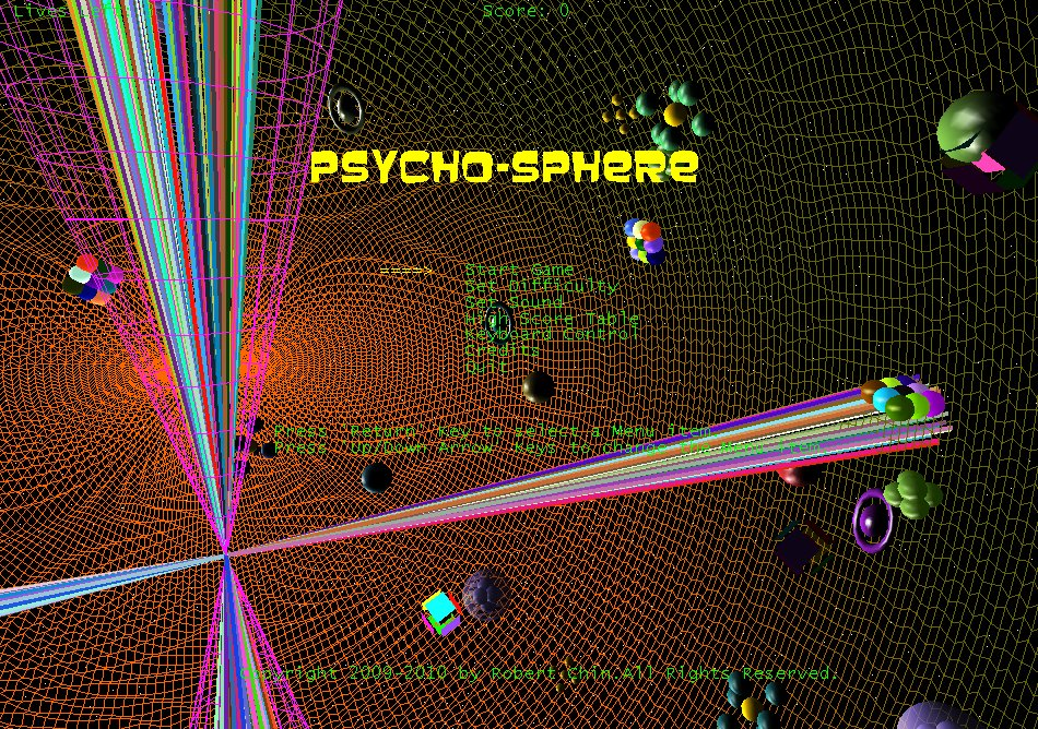 Psycho-Sphere screenshot